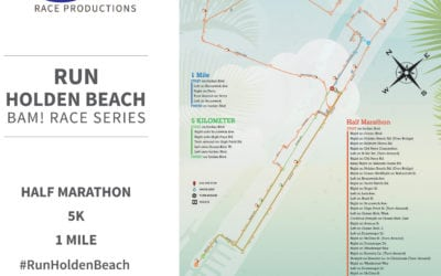 Run Holden Beach Route Details