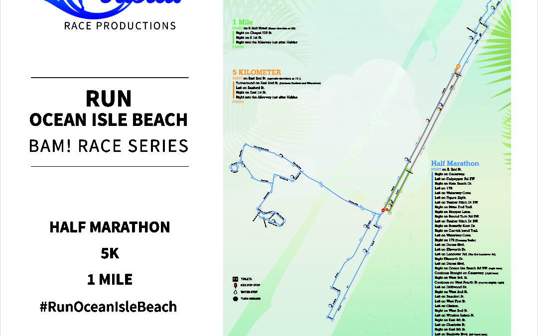 Run Ocean Isle Beach Course Details
